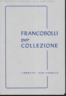 LOTTO  2 LIBRETTI PER FRANCOBOLLI - USATI - Contenitore Per Francobolli