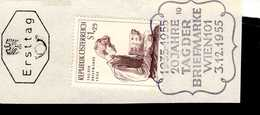 Österreich 1023 Tag Der Briefmarke  Used Gestempelt - 1945-.... 2. Republik