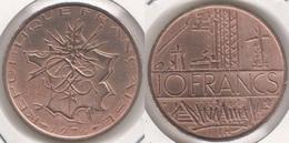 Francia 10 Francs 1976 KM#940 - Used - Francia