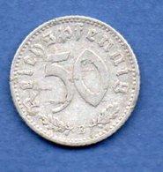 Allemagne  --  50 Reichspfennig  1941 E  - Km # 96  -  état  TB - [ 4] 1933-1945 : Troisième Reich