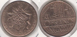 Francia 10 Francs 1977 KM#940 - Used - Francia