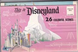 Dépliant THIS IS DISNEYLAND--26 Colorful Scenes--voir 12 Scans - Disneyland