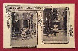 GOBBO DI S.ANASTASIA CARTOLINA DA VERONA A LUCCA IN DATA 10/8/1913 - Cartoline