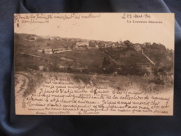 Chaligny  Le Mont  Cimetière - Coll. Nicolle  Précurseur  Circulée 1904 - R269 - Other Municipalities