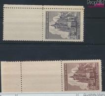 Böhmen Und Mähren 140LS-141LS Mit Leerfeld (kompl.Ausg.) Postfrisch 1944 Veits-Dom (9254987 - Böhmen Und Mähren