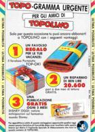 [MD2342] CPM - TOPOLINO - FUMETTI - PUBBLICITARIA - ACRTOLINA DI CONVALIDA - NV - Comics