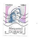Personnalité Centenaire De La Naissance De Marguerite Duras N°4850 Oblitéré Année 2014 - France