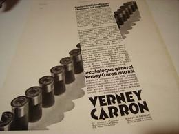 ANCIENNE AFFICHE PUBLICITE ALBUM GENERAL TOUCHE VERNEY-CARRON 1930 - Publicité
