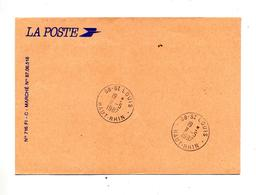 Lettre Franchise Cachet Saint Louis - Marcophilie (Lettres)