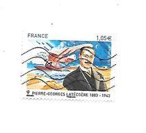 Personnalité Pierre-Georges Latécoère N°4794 Oblitéré Année 2013 - Gebraucht