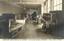 Themes Div- Ref Y711- Bourges -cher - Instruments De Musique - Piano -pianos - Comptoir Instrumental Du Centre - - Bourges