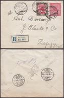 SOUDAN EP 1908 En Recommande De PORT SUDAN  Vers L Egypte (6G20737) DC-0623 - Soudan (...-1951)