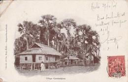VILLAGE CAMBODGIEN 1401J - Cambodia