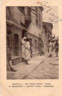 Grèce - Salonique - Quartier Vardar - Commérage 1918 Circulé Sous Enveloppe - Grèce