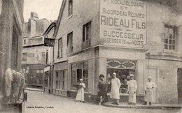 LOUDUN - MAGASIN RIDEAU Fils Successeurs Desserts Pour Noces - Loudun