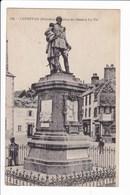 156 - LESNEVEN - Statue Du Général LE Flô - Lesneven