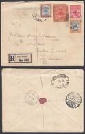 SOUDAN EP 1923 En Recommande De PORT SUDAN Vers La Suisse (6G20737) DC-0626 - Soudan (...-1951)