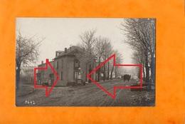 FALKENBERG  -  FAULQUEMONT   ( 57 )  Janvier 1918   ( Maison Du 2 Rue De Créhange Et La Rue De Tritteling à Droite ) - Faulquemont