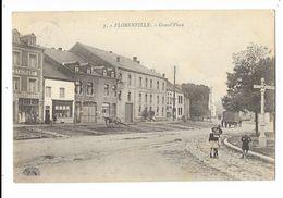 Florenville  ( M 4054 )  Restaurant - Hotel Du Commerce Et Cheval Qui Tire 1 ......; - Florenville