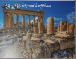 Petit Calendrier De Poche  2019 Week End à Athènes - Calendars