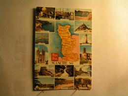 La Manche - Carte - Vues Diverses - France