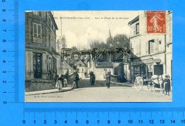 204 - MONTBARD - Sur Le Pont De La Brenne - (Tabac, Attelage) - Montbard