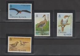 Iles Caimans 1986 Oiseaux 580-83 4 Val ** MMH - Cayman Islands