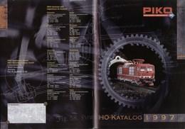 Catalogue PIKO  HO 1997 Modellbahnen & Gebäudemodelle HO - German
