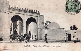 Tunisie - Tunis - Porte Bab Aléoua Et Marabout 1907 - Tunisie