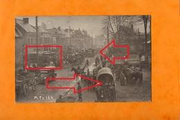 ORIGNY BEI ST. QUENTIN  -  ( Origny-Sainte-Benoite )  ( 02 )   Mars 1918  (  SUPERBE Et RARE ANIMATION ) - Guerre 1914-18