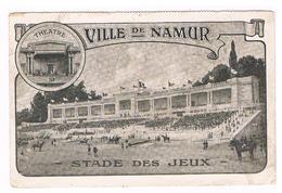 Carte Publicitaire : Namur Grand Concours Hippique été 1910, Théâtre, Courses De Taureaux Stade Des Jeux - Namur