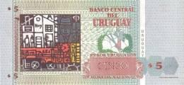 URUGUAY P. 80 5 P 1998 UNC - Uruguay