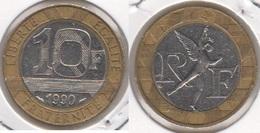 Francia 10 Francs 1990 KM#964.1 - Used - K. 10 Franchi
