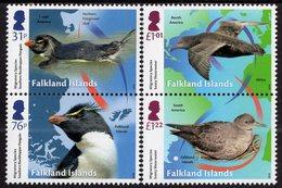 Falkland Islands - 2018 - Migratory Species - Mint Stamp Set - Falkland Islands