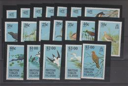 Iles Vierges 1985 Oiseaux 508-26 19 Val ** MMH - British Virgin Islands