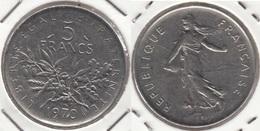 Francia 5 Francs 1970 Km#926a.1 - Used - J. 5 Franchi