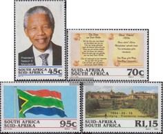 Südafrika 926-929 (completa Edizione) First Day Cover 1994 Presidente Mandela - FDC