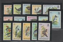 Montserrat 1984 Oiseaux 535-49 15 Val ** MMH - Montserrat