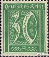 Deutsches Reich 181 Mit Falz 1921 Wasserzeichen Waffeln - Nuevos