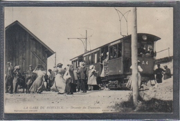 Carte Postale 88. Gare Du Hohneck  Descente Du Tramway   Très Beau Plan - France