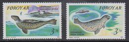 Faroe Islands 1992 Seals 2v ** Mnh (41314D) - Faeroër