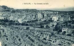 CADOLIVE Vue Générale - France