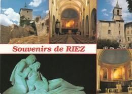 CPA - RIEZ - ALPES DE HAUTE PROVENCE 04 - Non Circulée - France