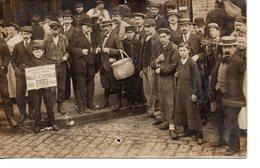 Paris : Petits Métiers : Les Halles : Carte-photo De 1907 - Petits Métiers à Paris