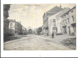"""Florenville  ( M 4053 )  Homme Avec Son  Vélo Devant  L' Imprimerie ( """" La Soute """"???) - Florenville"""