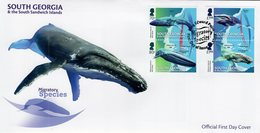 Falkland Islands - South Georgia - 2018 - Migratory Species - FDC (first Day Cover) - Zuid-Georgia