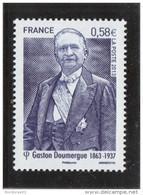 FRANCE 2013 GASTON DOUMERGUE NEUF** YT 4793 - - Frankreich