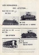 Catalogue METROPOLITAN INFORMATIONS Bulletin N. 23 Mai-Juin-Juillet 1975 - En Français Et Allemand - Books And Magazines