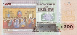 URUGUAY P. 96 200 P 2015 UNC - Uruguay