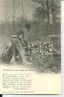 NIEVRE - BUCHERONS - LA COUPE DU TAILLIS  - LA FORET EN NIVERNAIS - HIVER - France
